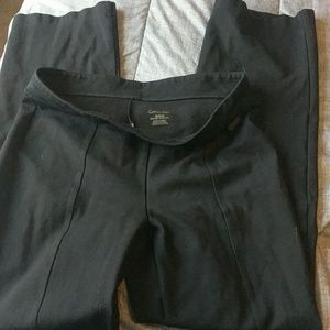 Black Calvin Klein Power Stretch Pull On Pants